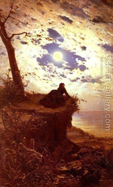 Ancor Non Torna (And She Never Returned) by Alfonso Simonetti - Reproduction Oil Painting