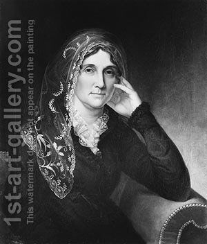 Martha Stewart Wilson by James Peale - Reproduction Oil Painting