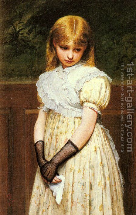 Petulance by Charles Sillem Lidderdale - Reproduction Oil Painting