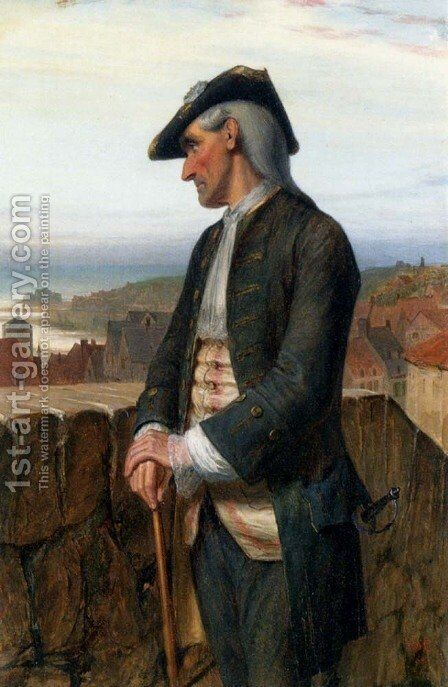 The Exiled Jacobite by Charles Sillem Lidderdale - Reproduction Oil Painting