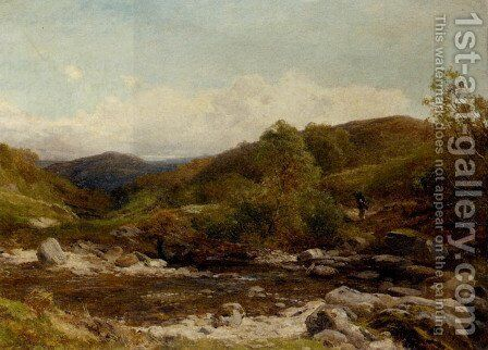 In Glen Mallin by David Bates - Reproduction Oil Painting