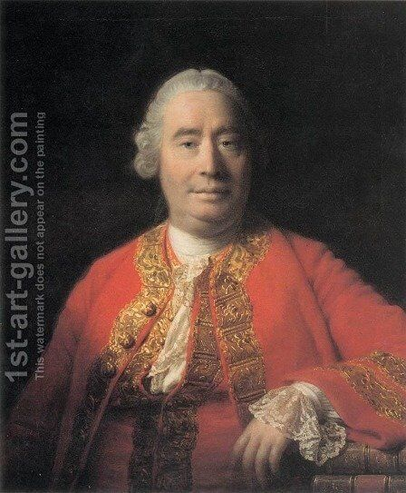 Portrait of David Hume by Allan Ramsay - Reproduction Oil Painting