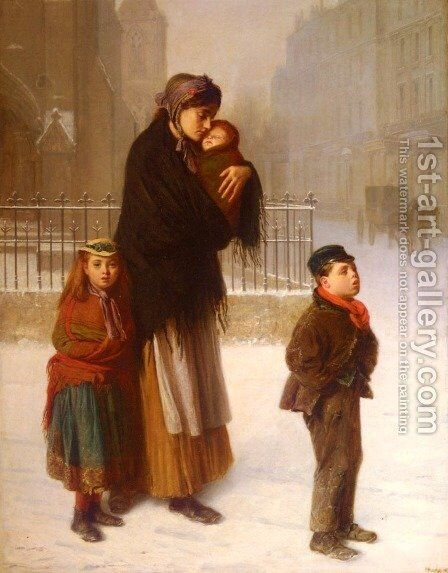Homeless by Haynes King - Reproduction Oil Painting