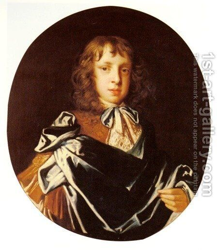 Portrait Of A Boy by Jacob Huysmans - Reproduction Oil Painting