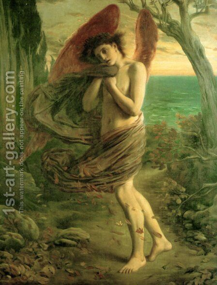Autumn by Simeon Solomon - Reproduction Oil Painting