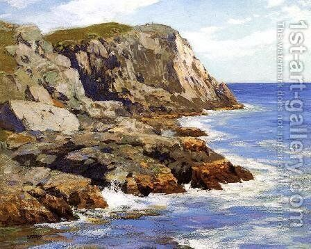Monhegan by Edward Henry Potthast - Reproduction Oil Painting
