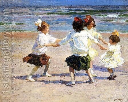 Ring around the Rosy by Edward Henry Potthast - Reproduction Oil Painting