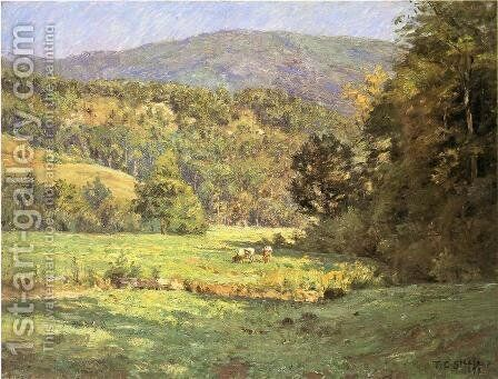 Roan Mountain by Theodore Clement Steele - Reproduction Oil Painting