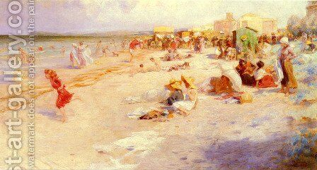 The Last Days Of Summer by Alois Hans Schramm - Reproduction Oil Painting