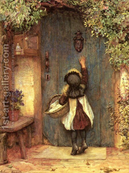 The Visitor by Arthur Hopkins - Reproduction Oil Painting