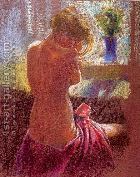 Private Moments II by Hazel Soan - Reproduction Oil Painting
