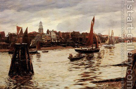 Limehouse by Charles Napier Hemy - Reproduction Oil Painting