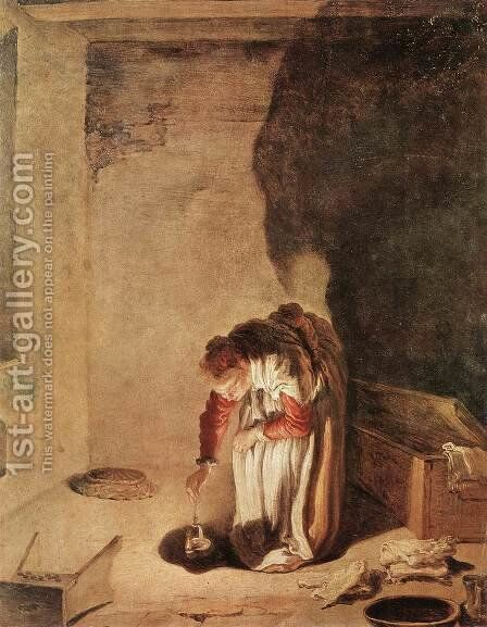 Parable of the Lost Drachma by Giovanni Francesco Guercino (BARBIERI) - Reproduction Oil Painting