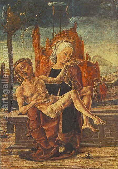 Pietà by Cosme Tura - Reproduction Oil Painting