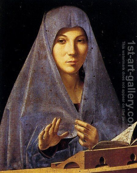 Annunciation by Antonello da Messina Messina - Reproduction Oil Painting