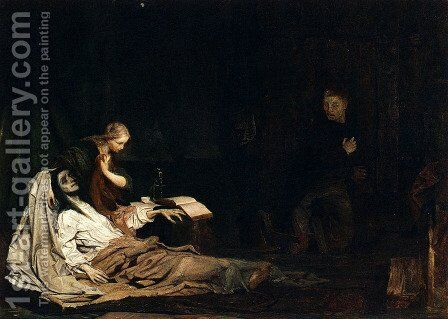 The Return Of The Prodigal Son by Matthijs Maris - Reproduction Oil Painting