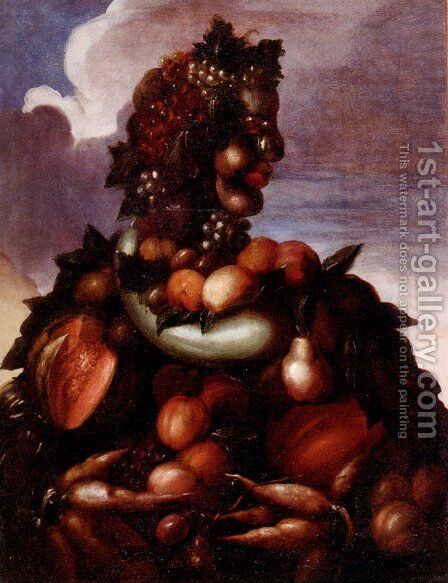 The Seasons Pic 3 by Giuseppe Arcimboldo - Reproduction Oil Painting