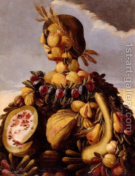 The Seasons Pic 4 by Giuseppe Arcimboldo - Reproduction Oil Painting