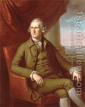 Thomas Willing by Charles Willson Peale - Reproduction Oil Painting