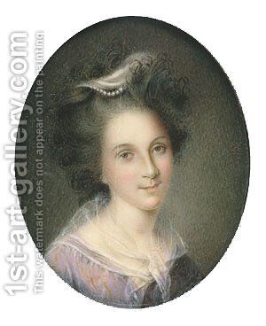 Rachel Brewer Peale by Charles Willson Peale - Reproduction Oil Painting