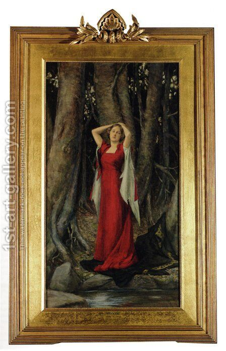 Isolde by Henry Meynell Rheam - Reproduction Oil Painting