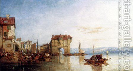 Zurich by James Baker Pyne - Reproduction Oil Painting