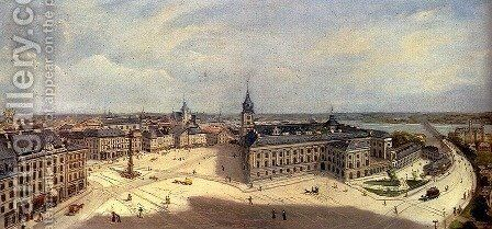 Views Of Warsaw (Pic 2) by Cheslas Bois Jankowski - Reproduction Oil Painting