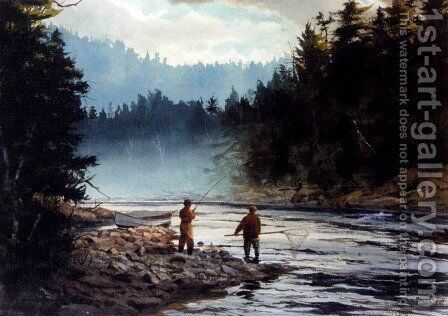 The Last Run by Brett James Smith - Reproduction Oil Painting