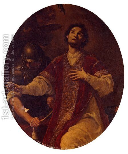 The Martyrdom Of Saint Lawrence by Corrado Giaquinto - Reproduction Oil Painting