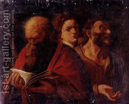 Three Ages Of Man by Andrea Sacchi - Reproduction Oil Painting