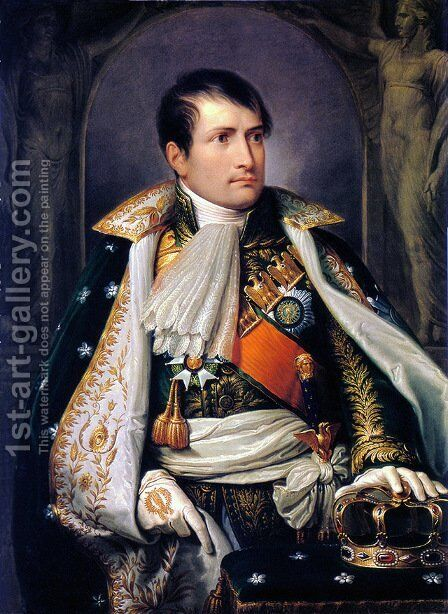 Napoleon, King of Italy by Andrea, the Elder Appiani - Reproduction Oil Painting