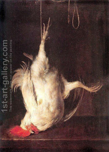 The Dead Cockerel by Gabriel Metsu - Reproduction Oil Painting