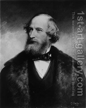 Cyrus W. Field by Daniel Huntington - Reproduction Oil Painting