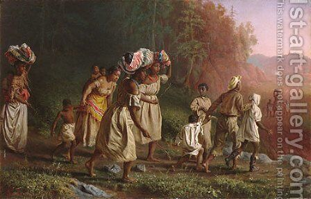 On to Liberty by Theodor Kaufmann - Reproduction Oil Painting
