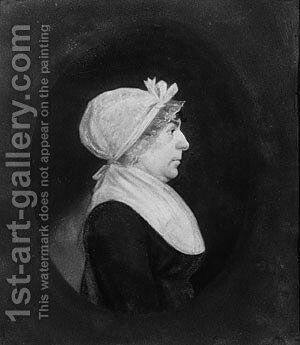 Dorothea Hart by James Sharples - Reproduction Oil Painting