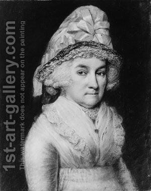 Abigail Smith Adams by James Sharples - Reproduction Oil Painting