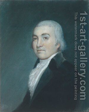 Noah Webster by James Sharples - Reproduction Oil Painting