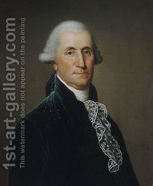George Washington by Adolph Ulrich Wertmuller - Reproduction Oil Painting