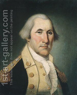 George Washington by Charles Peale Polk - Reproduction Oil Painting
