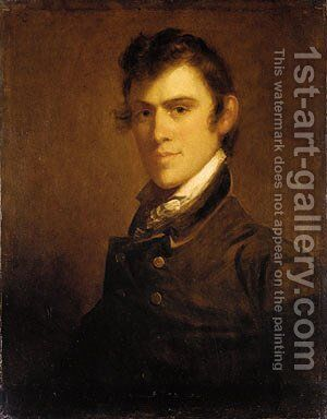 John Grimes by Matthew Harris Jouett - Reproduction Oil Painting