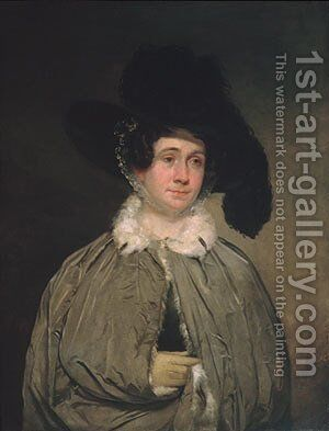 Mrs. Thomas Brewster Coolidge by Chester Harding - Reproduction Oil Painting