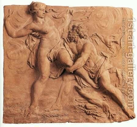 The Abduction of Persephone by Hades by Jan Peter van Baurscheit the Elder - Reproduction Oil Painting