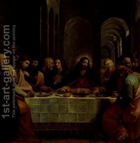 The Last Supper by Bartolome Carducci (or Carducho) - Reproduction Oil Painting