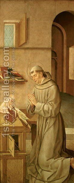 St Anthony of Padua by Carlos Taborda Vlame Frey - Reproduction Oil Painting