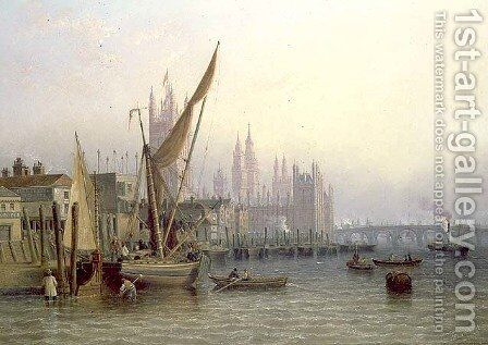 Westminster by James Wilson Carmichael - Reproduction Oil Painting