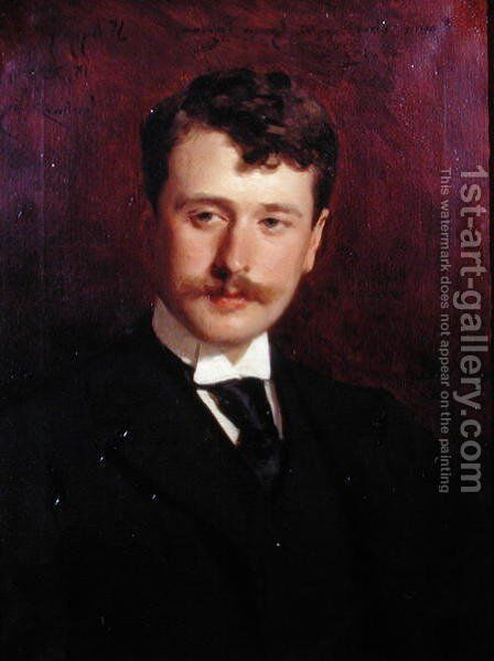 Portrait of Georges Feydeau (1862-1921) by Carolus (Charles Auguste Emile) Duran - Reproduction Oil Painting