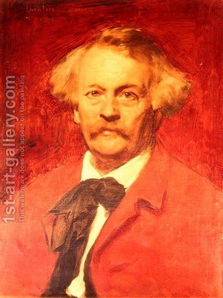 Nadar (1820-1910) by Carolus (Charles Auguste Emile) Duran - Reproduction Oil Painting