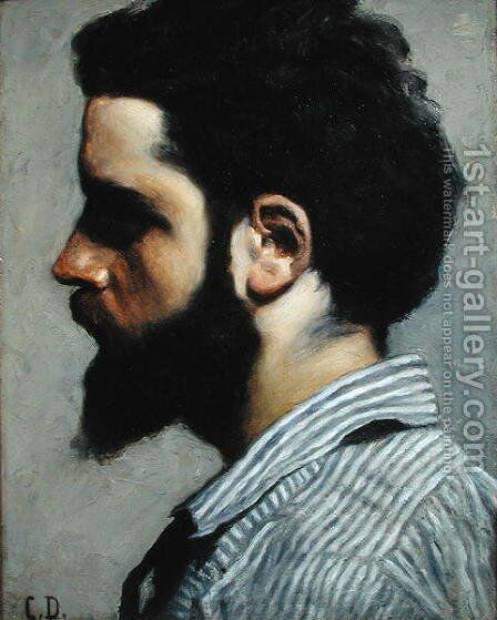 Portrait of Zacharie Astruc (1835-1907) by Carolus (Charles Auguste Emile) Duran - Reproduction Oil Painting