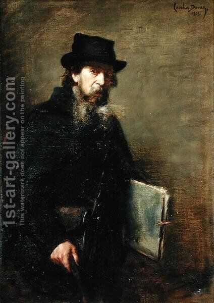 The Old Lithographer, 1903 by Carolus (Charles Auguste Emile) Duran - Reproduction Oil Painting