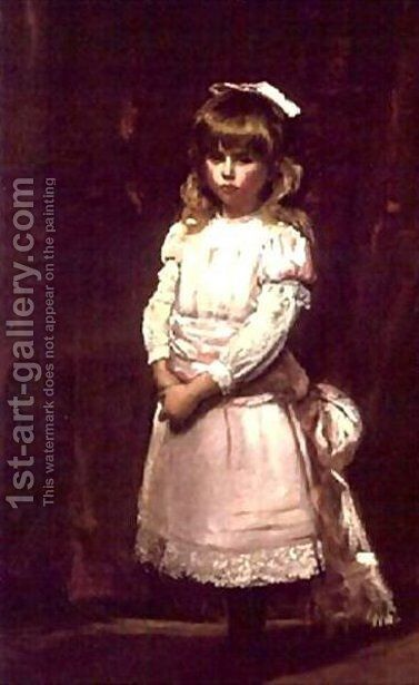 Cornelia Martin, later Countess of Craven by Carolus (Charles Auguste Emile) Duran - Reproduction Oil Painting